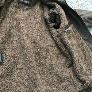 Guess Jackets & Coats - GUESS men's spring fall jacket size L brown